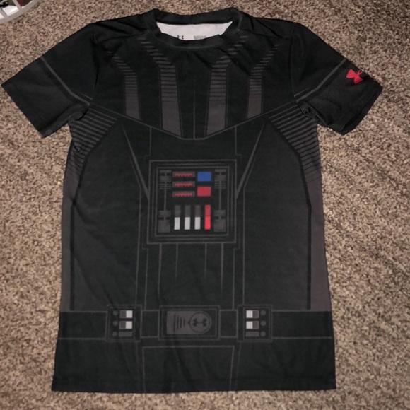trono Empeorando cada vez  Under Armour Shirts & Tops | B4go Under Armour Darth Vader Shirt Ylg 416 |  Poshmark